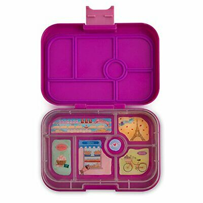 AU73.96 • Buy Yumbox Leakproof Bento Lunch Box Container Bijoux Purple For Kids