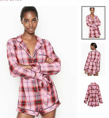 $ CDN31.84 • Buy Victoria Secret Flannel Tie Romper Small Nwt And Matching Bikini M