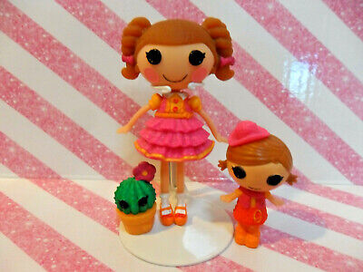 $5.59 • Buy New Lalaloopsy Mini Doll  Prairie & Sister Trouble Dusty Trails  Nob *complete*
