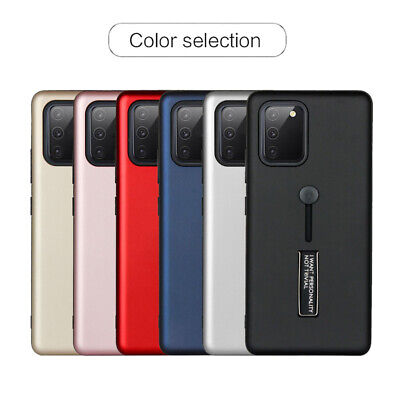 $ CDN8.36 • Buy For Samsung Galaxy S10 Lite S10+ S8+ S9+ Finger Loop Strap Silicone Case Cover