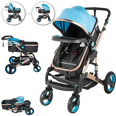 AU189.96 • Buy 2 In 1 Baby Stroller Infant Pushchair Luxury Buggy Pram Foldable Travel Compact