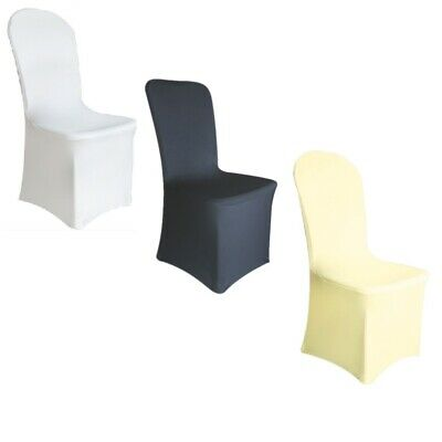 £1.99 • Buy 1-100 Spandex Wedding Dining Room Chair Covers Slip SEAT Cover Stretch Removable
