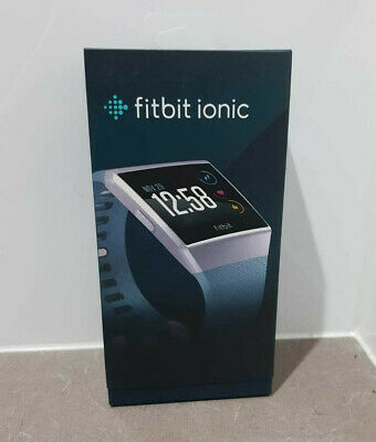 AU189 • Buy Brand New Fitbit Ionic Fitness Smart Watch Activity Tracker Black Silver Gold