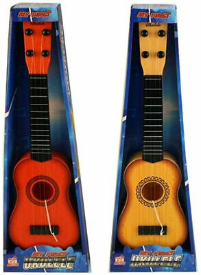 Kids Childrens Toy Ukulele Uke Soprano Musical Instrument 4 String Guitar New • 8.95£