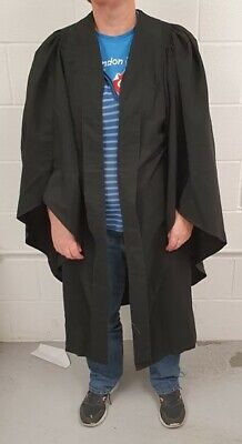 Ede And Ravenscroft Quality Graduation Gown, Mortarboard Set, Patterned Robe • 50£