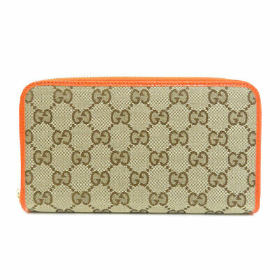 $458.85 • Buy GUCCI  363423 Long Wallet (with Coin Pocket) GG Outlet Canvas Leather
