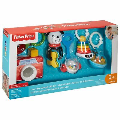 Fisher Price Toy Bundle Gift Set Gift Set Camera Roly Poly Chime Ball Teether • 18.95£