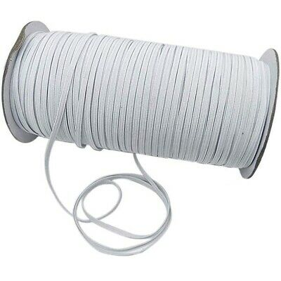 $ CDN5.15 • Buy 6mm Elastic Stretch Bands Flat Cord For Waist Sewing Clothing Trousers Lingerie