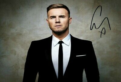 Gary Barlow Take That Signed Autograph PRINT 6x4  Gift • 1.99£