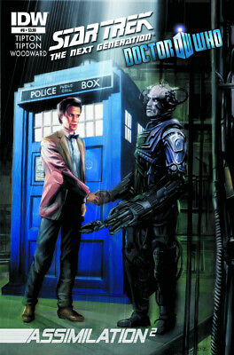 Star Trek The Next Generation Doctor Who #6 - Cover A - Idw 2012 • 3.95£