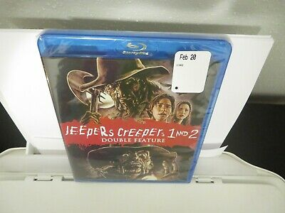 $29.99 • Buy Jeepers Creepers 1-2 Blu-ray Shout Factory 2018 Double Feature Brand New Sealed