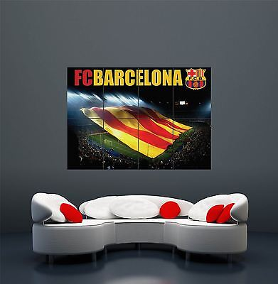 Fc Barcelona Football Sport Soccer Giant Wall Art Print Poster X2306 • 13.45£