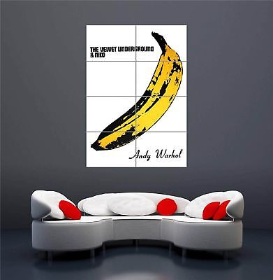 $18.95 • Buy Velvet Underground Banana Andy Warhol New Giant Wall Art Print Poster Oz986