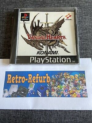£79.99 • Buy Vandal Hearts (Sony PlayStation 1, 1997)  PS1 PSX - COLLECTORS CONDITION