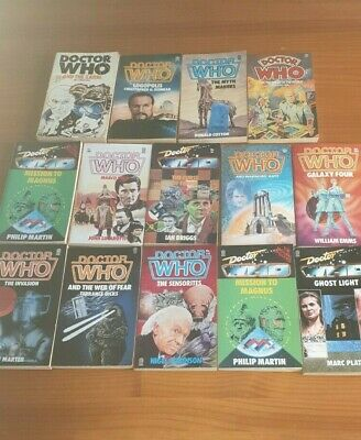 Collection Of 14 Doctor Who Target Paper Back Edition Books / 1980s Vgc • 44.99£