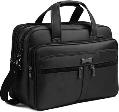 AU68.99 • Buy Laptop Bag 17.3 Inch Large Briefcase Expandable Water-Repellent Business Travel