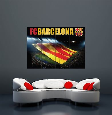 Fc Barcelona Football Sport Soccer Giant Wall Art Print Poster X2306 • 15.54£