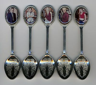 $25 • Buy Buffy The Vampire Slayer 5 Silver Plated Spoons Featuring Buffy Vampire Slayer
