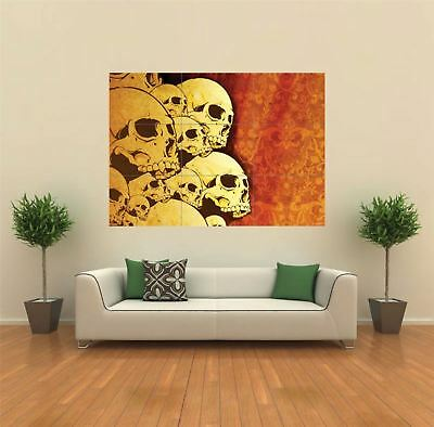 £14.95 • Buy Gothic Skulls Horror Creepy Giant Wall Art New Poster Print Picture