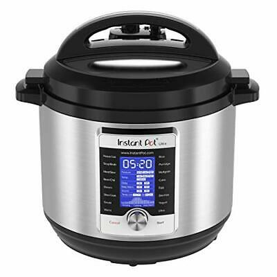 $245.81 • Buy Instant Pot Ultra 10-in-1 Electric Pressure Cooker Slow Cooker Rice Cooker St...