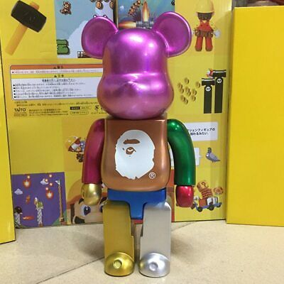 $60 • Buy 400% Bearbrick Evade Glue BE@RBRICK Action Figure {High Quality} - LIMITED ITEMS