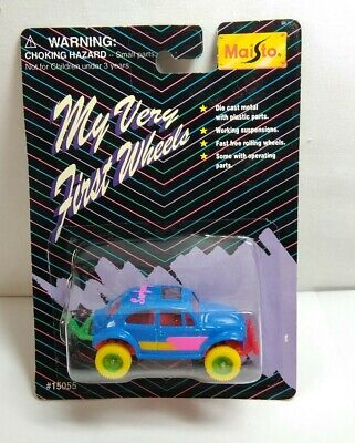 $ CDN6.19 • Buy Maisto My Very First Wheels Diecast Vw Beetle - Surfway - Sealed Blister Pack