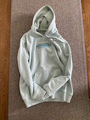 $250 • Buy Kith Strike Box Logo Hoodie Williams Blue - Size L