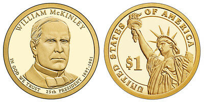 $3.99 • Buy 2013 S GEM Proof WILLIAM MCKINLEY Dcam PRESIDENTIAL Dollar Uncirculated COIN PF