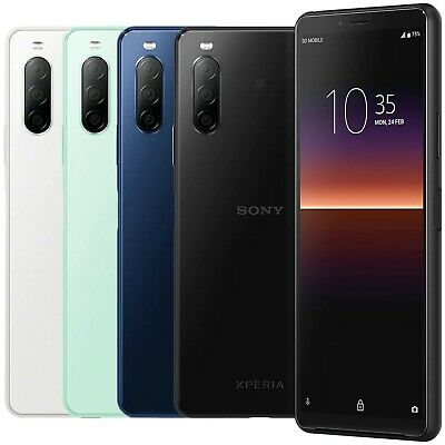 $ CDN428.55 • Buy Sony XPERIA 10 II XQ-AU52 128GB 4GB RAM (FACTORY UNLOCKED) 6.0  Snapdragon 665