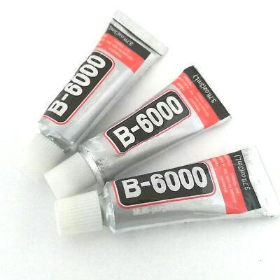 AU7.22 • Buy Lot Of 3 Tube Glue 3ML Jewelry B6000 Transparent Cabochons Tips