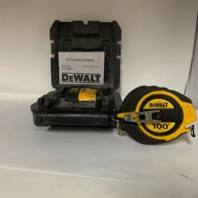 $89.99 • Buy DEWALT DW088 Self-Leveling Cross Line Laser Level,Hard Black Case,Tape Measure