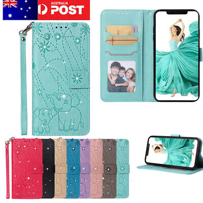AU14.99 • Buy Huawei P30 20 Pro Mate 20 Pro Y5 Y6 Case, Bling Flip Wallet Leather Magnet Cover