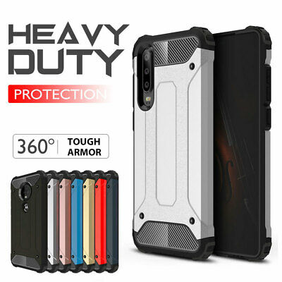 AU13.98 • Buy Huawei Y5 Y6 Y7 Pro 2019/2018 Nova 3e 3i Case,  Rugged Heavy Duty Armor Cover