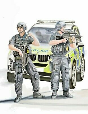 £26.99 • Buy Armed Response Police Vehicle With Two AFO's Glicee Print PERSONALISE YOUR PRINT