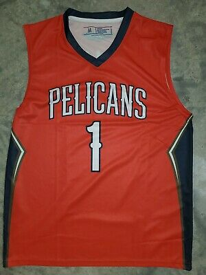 $39.99 • Buy New Zion Williamson New Orleans Pelicans Jersey Red SGA Adult M