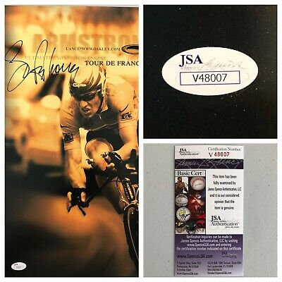 Lance Armstrong Signed Autograph 13x19 Oakley Poster - JSA - FREE PRIORITY S&H! • 144.68£