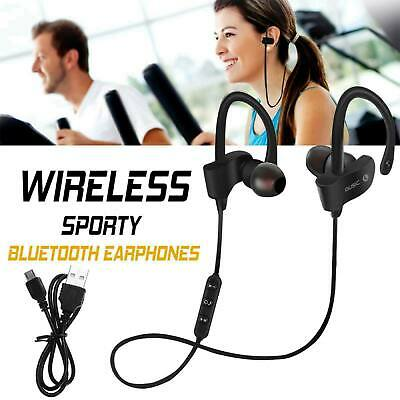 Wireless Bluetooth Headphones Sports PREMIUM Earphones For Samsung IPhone UK • 5.45£