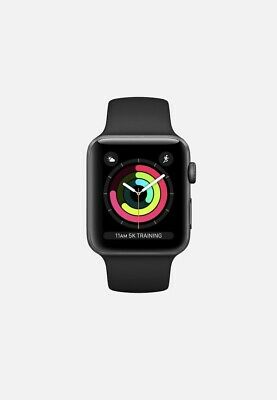 $ CDN345.10 • Buy Apple Watch Series 3 42mm Space Black Stainless Steel Case With GPG & CELLULAR