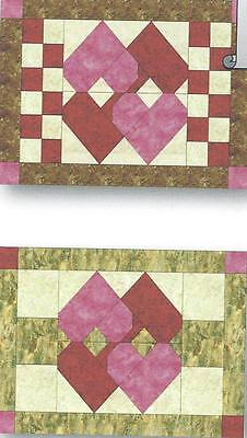 $10 • Buy Calendar Placemats - Feruary Love Quilt Pattern By Nancy Dill
