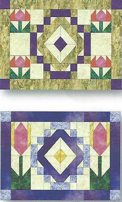 $10 • Buy Calendar Placemats - April Tulips Quilt Pattern By Nancy Dill Of Quilt Woman