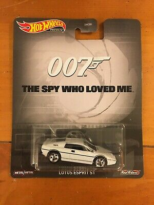 $ CDN16.05 • Buy Lotus Esprit S1 Bond The Spy Who Loved Me 007 * Hot Wheels Retro Q Case Premium