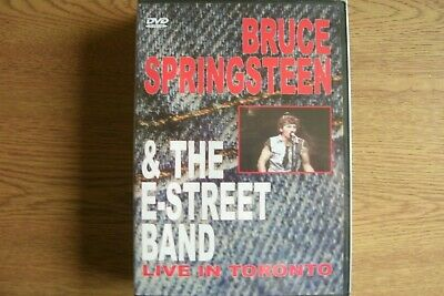 *NEW*  Bruce Springsteen & The E-Street Band - Live In Toronto (DVD) FREE UK P+P • 15.99£