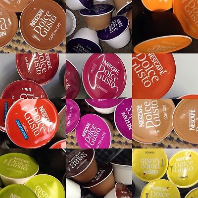 Nescafe Dolce Gusto Pods CREATE Your Own 50 Mix (Milk & Coffee Pods -28 Blends) • 5.50£