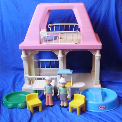 $69.98 • Buy Vintage Little Tikes Doll House Grandma's House #5570 1992 W/ Extra Accessories