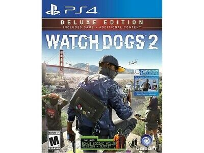 AU24.99 • Buy Ps4 Watch Dogs 2 Deluxe Edition Game