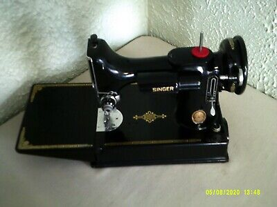 $479.50 • Buy Vintage Singer Featherweight 221 Sewing Machine --  Great Condition!