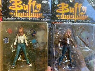 $7.90 • Buy Buffy The Vampire Slayer Moore Figures Set Of 2 Buffy And Willow Collectible