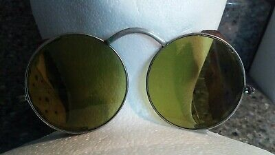 $20 • Buy Vintage 1930s Willson Sunglasses Green Lens Safety Goggles Wire Rims Made In Usa