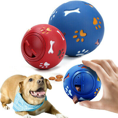 AU14.66 • Buy Dog Puzzle Toy Toug Treat Ball Pet Fun Mental Food Dispenser Interactive Play AU
