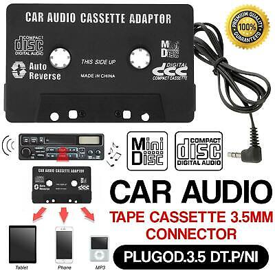 Car Music Audio Tape Cassette To Jack AUX For IPOD MP3 IPhone 3.5mm Conection